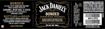 Nieuwe Jack Daniel's gebotteld in Bond-whisky's komt mogelijk binnenkort